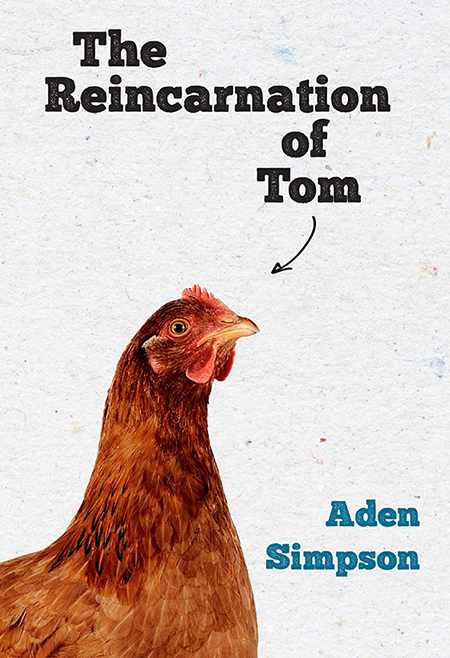 The Reincarnation of Tom book cover by Aden Simpson